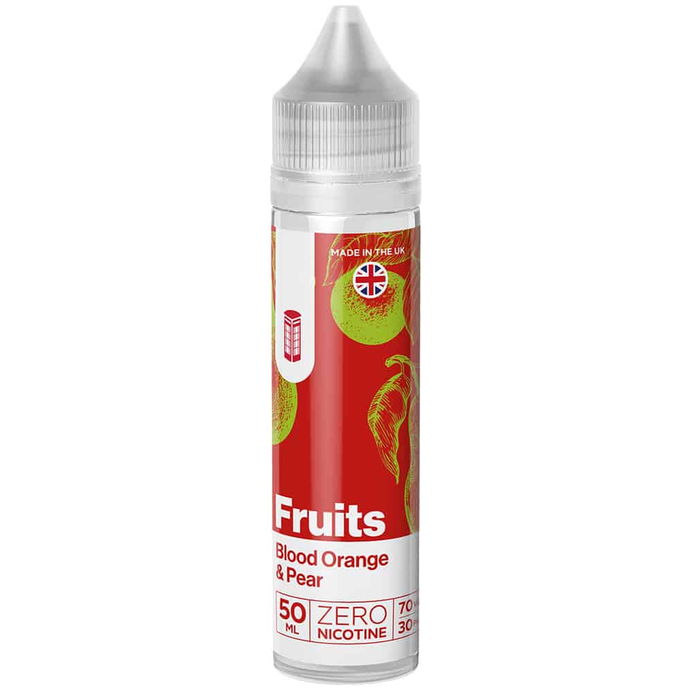Red Box Fruits - Blood Orange and Pear - 50ml